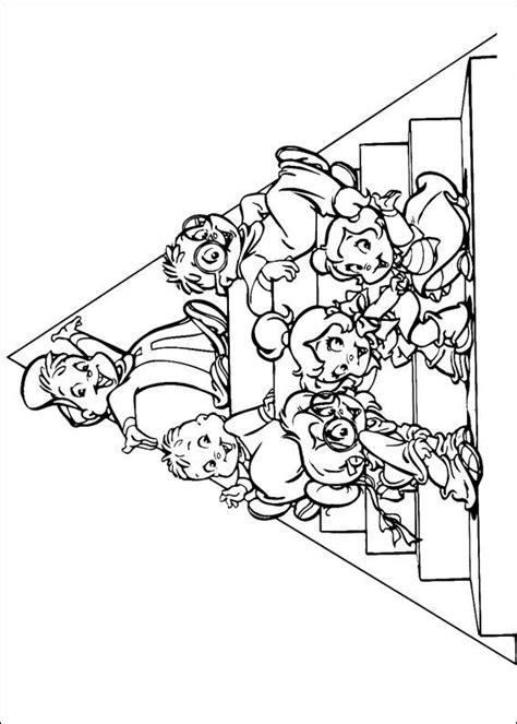 Alvin En De Chipmunks Kleurplaat by N Kleurplaat Alvin En De Chipmunks Alvin En De