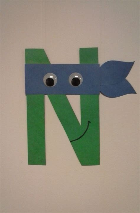 preschool letter n n is for turtle alphabet 818 | 12294c2c06100c379b83b5a78b8af32e