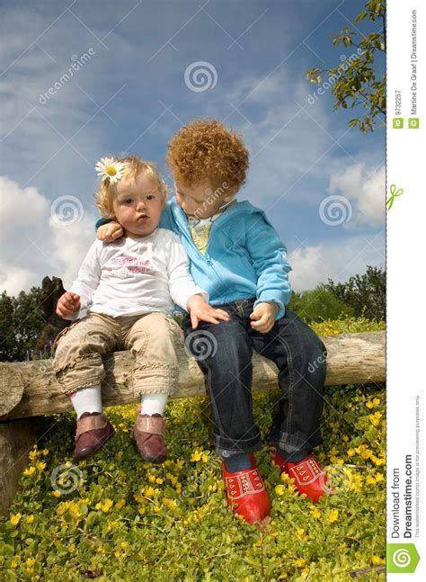 cute kids  love stock image image  child caring