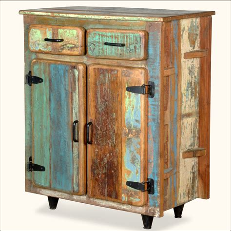 kitchen storage reclaimed wood rustic kitchen utility storage cabinet 1605
