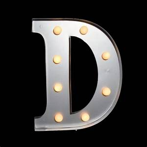 marquee light letter 39d39 led metal sign 10 inch battery With marquee letter d