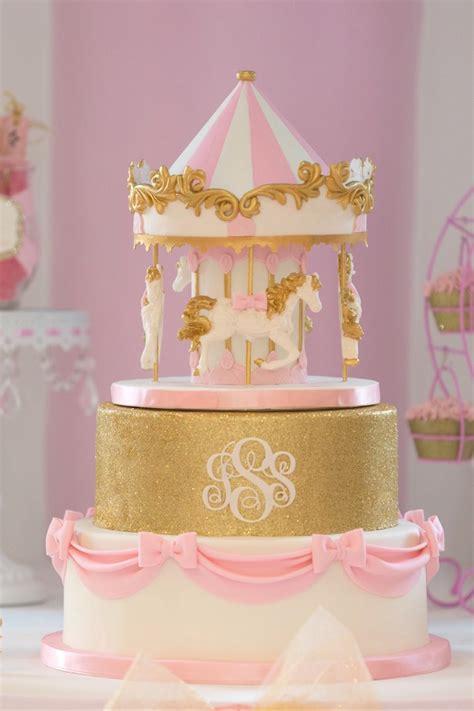 karas party ideas pink carousel birthday party karas