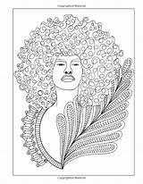 Coloring Adult Books Curls Natural Buster Celebrating sketch template