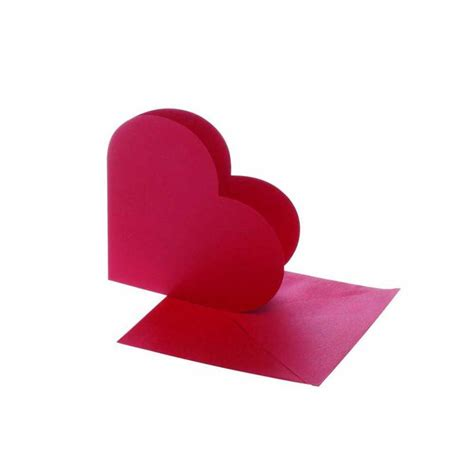 Kay berry goodbyes are not forever heart shaped memorial stone. Heart-shaped Cards, Card Size 12,5x12,5 cm, Red, 10 Set - CC23762 | Craftsuprint