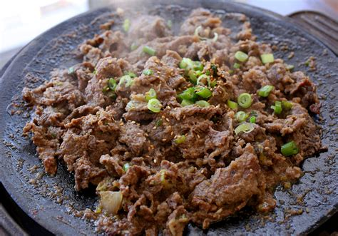 cooking cuisine food photo bulgogi on the grill maangchi com