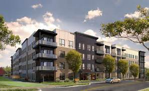 Luxury Apartment Complex by INSIGHT PROPERTY GROUP STARTS CONSTRUCTION OF 67 UNIT LUXURY APARTMENT BUILDI