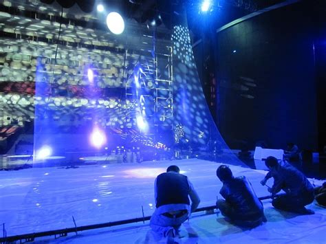 rear projection screen for stage china musion eyeliner system 3d stage holographic