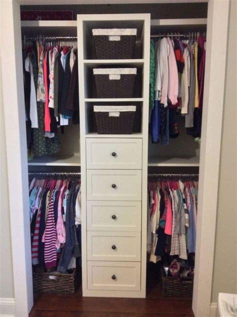 Shared Closet Organization Ideas by Interesting Small Shared Closet Organization Ideas For