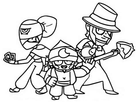 disegni da colorare brawl bibi disegni di brawl da colorare sta gratuitamente