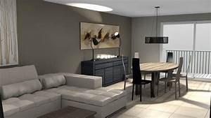 decoration salon sejour moderne With canapé convertible scandinave pour noël aménagement chambre adulte