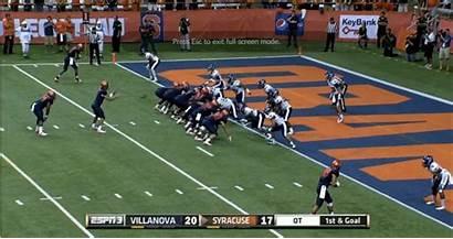 Goal Line Football Yard Syracuse Film Down