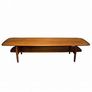 mid century danish teak coffee table at 1stdibs With mid century coffee table set