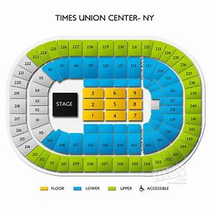 Seating Chart Times Union Center Albany Ny Times Union Center Ny Tickets Times Union Center Ny