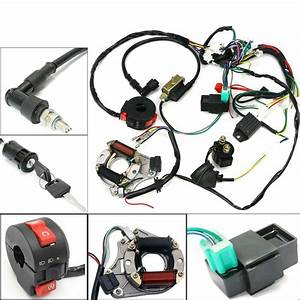 50 70 90 110cc Cdi Wire Harness Assembly Wiring Kit Atv