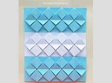 mas origami Bandera argentina de origami