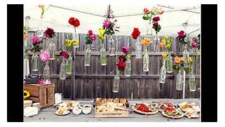 Garden Party Decoration Ideas by Awesome Outdoor Party Decoration Ideas YouTube