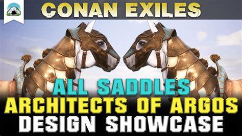 conan exiles saddles argos architects dlc
