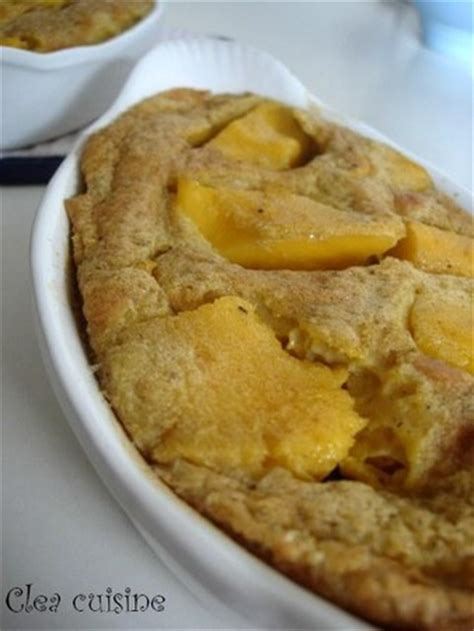 cuisine de clea clafoutis de mangue parfum orangé clea cuisine