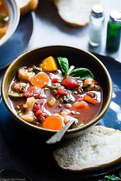 Soup Vegetable Crockpot Homemade Easy Pot Crock