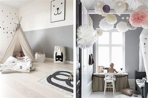 chambre gris blanc la fabrique à déco chambre d 39 enfant colorée ou neutre