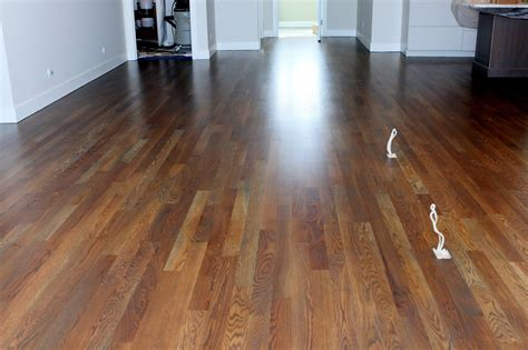 Floors : White Oak With Grey Stain In Randolf Condominiums