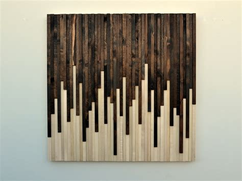 rustic wood wall wood sculpture wall by moderntextures