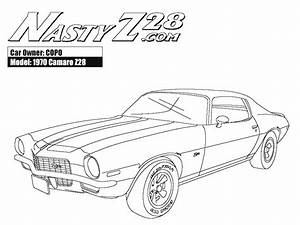 Free coloring pages of chevrolet camaro ss