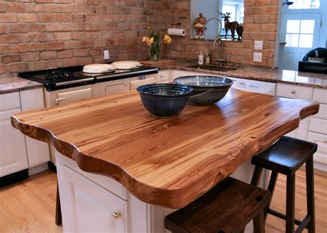 butcher block tops for kitchen islands reclaimed longleaf pine wood countertop photo gallery by 9343