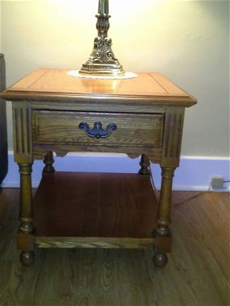 matching coffee and end tables broyhill coffee table and matching end tables the batavian