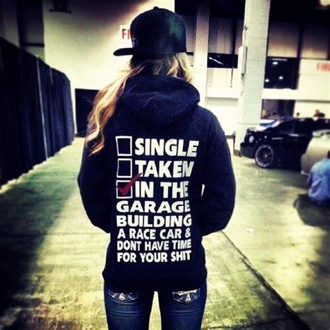 Single Taken In The Garage Building A Race Car T shirt Car