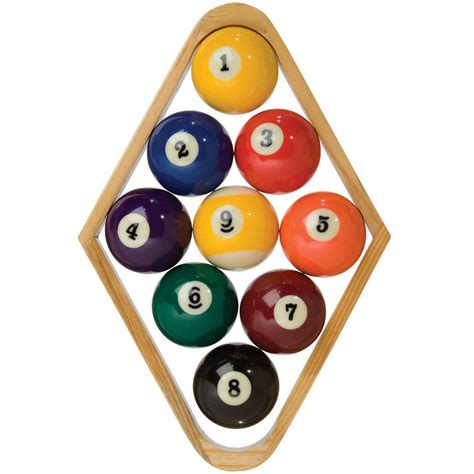 how to rack pool balls newtonian mechanics why doesn t the 9th move in the