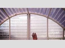 Mr Bell's Homemade Transparent Corrugated PVC Greenhouse