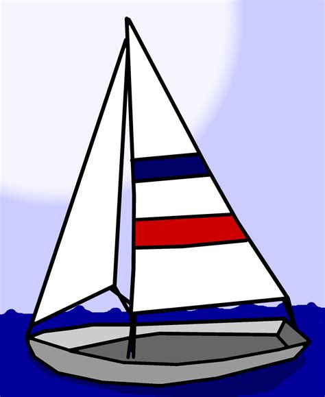 Free Boat Clipart Images by Sailboat Clip Free Stock Photo Domain Pictures