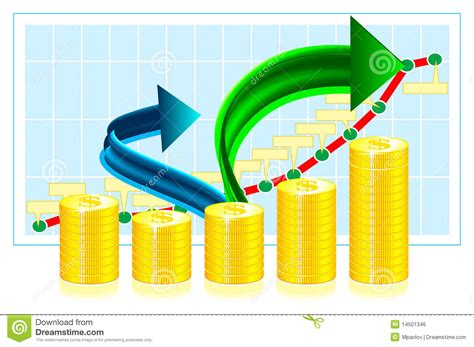 Financial Success Concept Illustration Royalty Free Stock