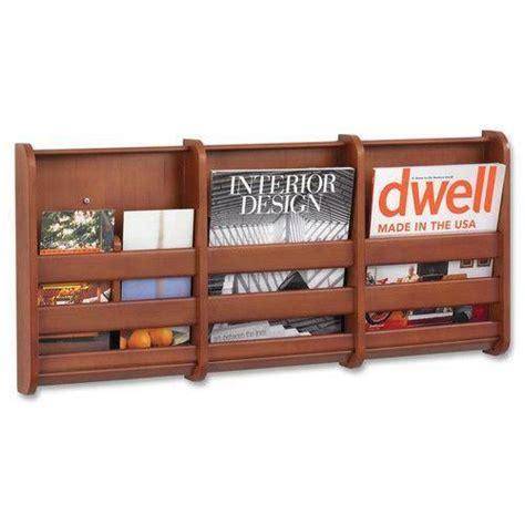 wood wall magazine rack ebay