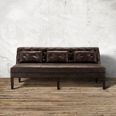 Tufted Leather Settee by 17 Best Images About Home Furniture On