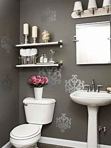 17 decorative bathroom wall decals keribrownhomes With ideas for bathroom decals for walls