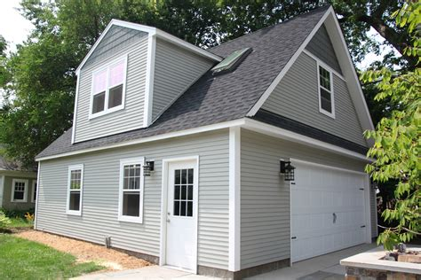 two story garage 2 car 2 story garage using attic trusses and