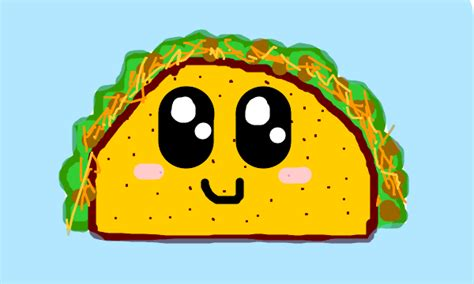 How To Draw Cartoon Tacos Cute Step By Step Easy