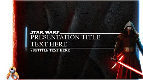 star wars powerpoint template  world  reference
