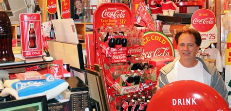 meet canadas top coca cola collector  coca cola company