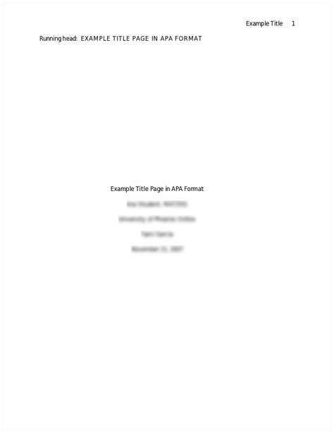 We plan to share additional sample papers and templates in the future, including more. Apa research paper format title page - pollutionbooks.web.fc2.com