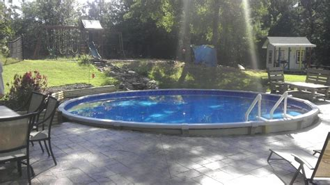 Good Looking Above Ground Swimming Pools Put In Clearance