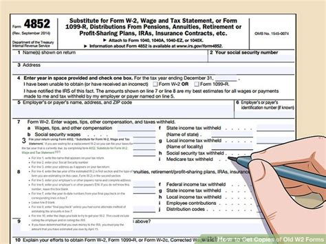 3 ways to get copies of w 2 forms wikihow