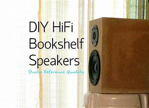 Wooden Bookshelf Speaker Design PDF Plans