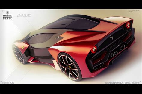ferrari getto design concept forcegtcom