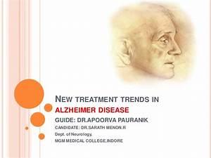 New treatment trends in alzheimer disease