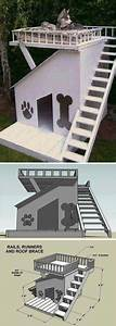 build dog house woodworking projects plans With dog house with deck