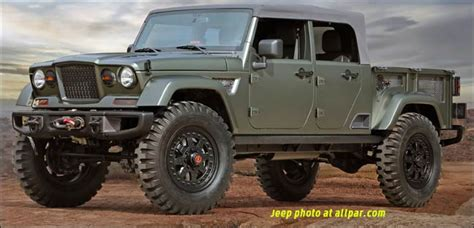 jeep chief truck jeep crew chief 715 2016 moab concept pickup