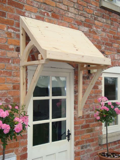 timber front door canopy lean  mono pitch ellesmere canopies ebay